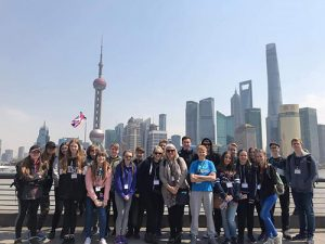 Sandymoor Trip to China March 2019
