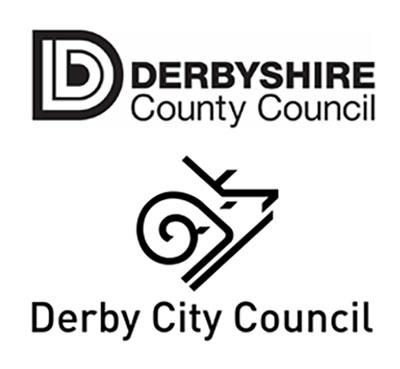 derbyshire derby council logos