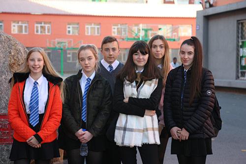 Biddick Sister School Visit