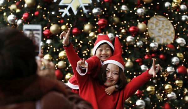 Christmas Celebrations in China