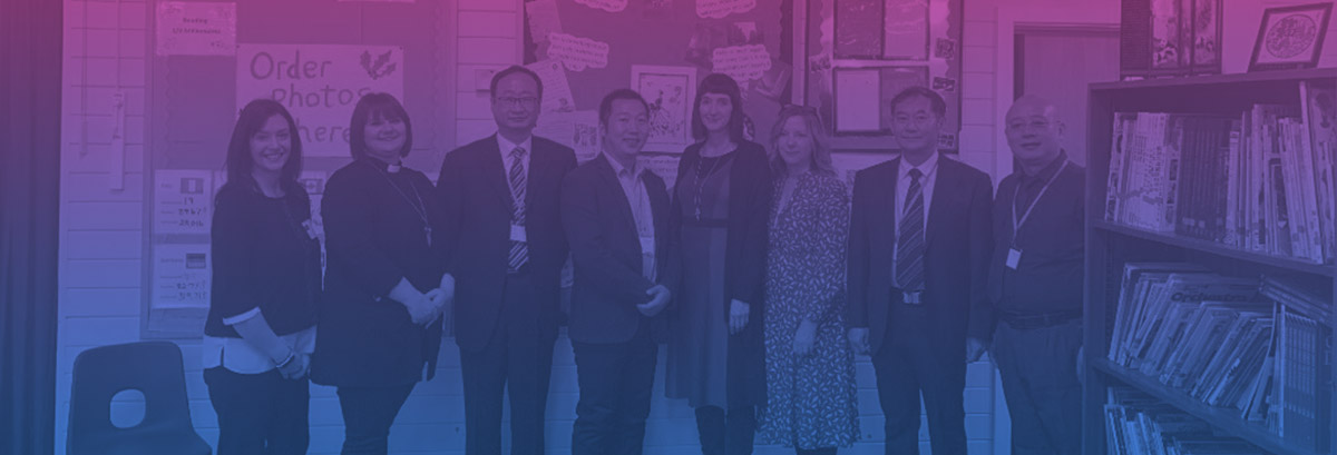 Hefei Delegation Visits Derbyshire Schools