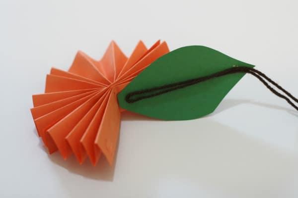 Paper Orange Yarn