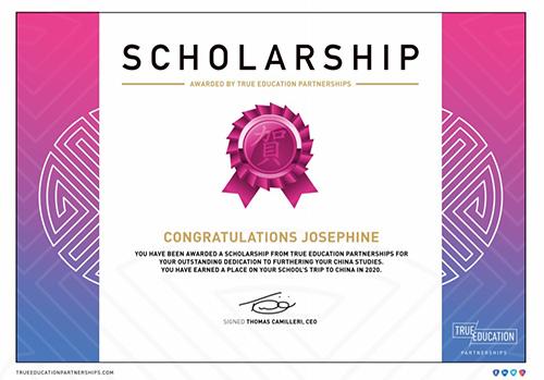 TEP scholarship programme