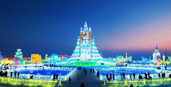 Harbin Ice Festival 2020