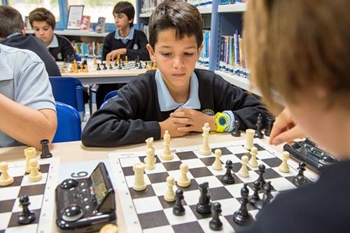 Chess tournament fundraiser