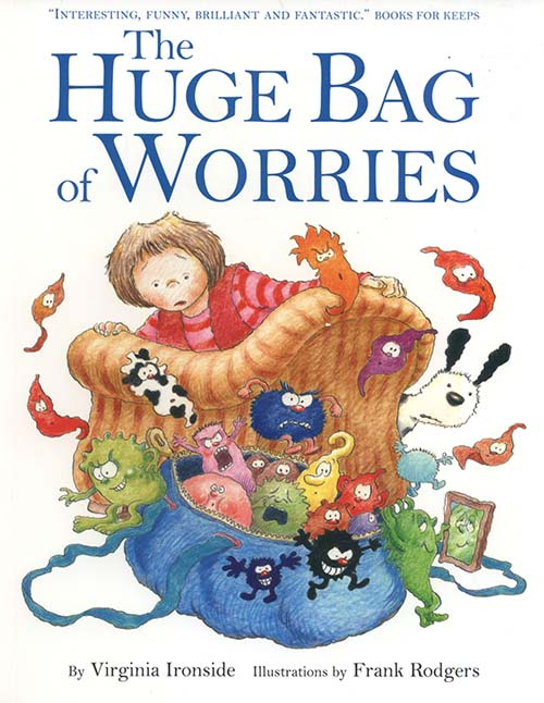 The Huge Bag of Worries book cover