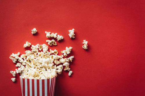 Popcorn exploding