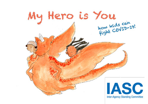 My Hero Is You illustration