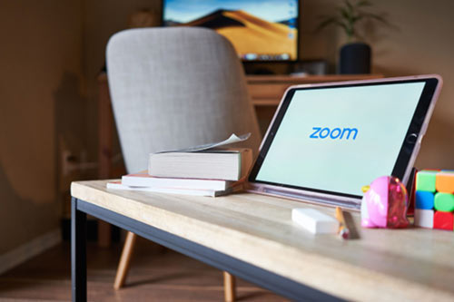 Using Zoom to connect