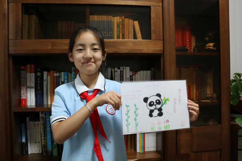Sister School Receives Heartwarming Messages From Friends in China